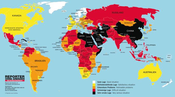 Press Freedom Awards   Reporter ohne Grenzen für Informationsfreiheit